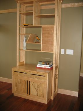 Custom Made Elegant Entertainment Center