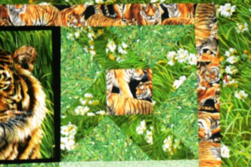 Custom Made Custom Tiger Quilt