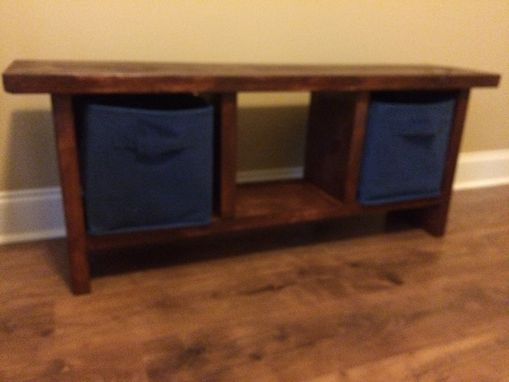 Custom Made Bench Benches Storage Bench