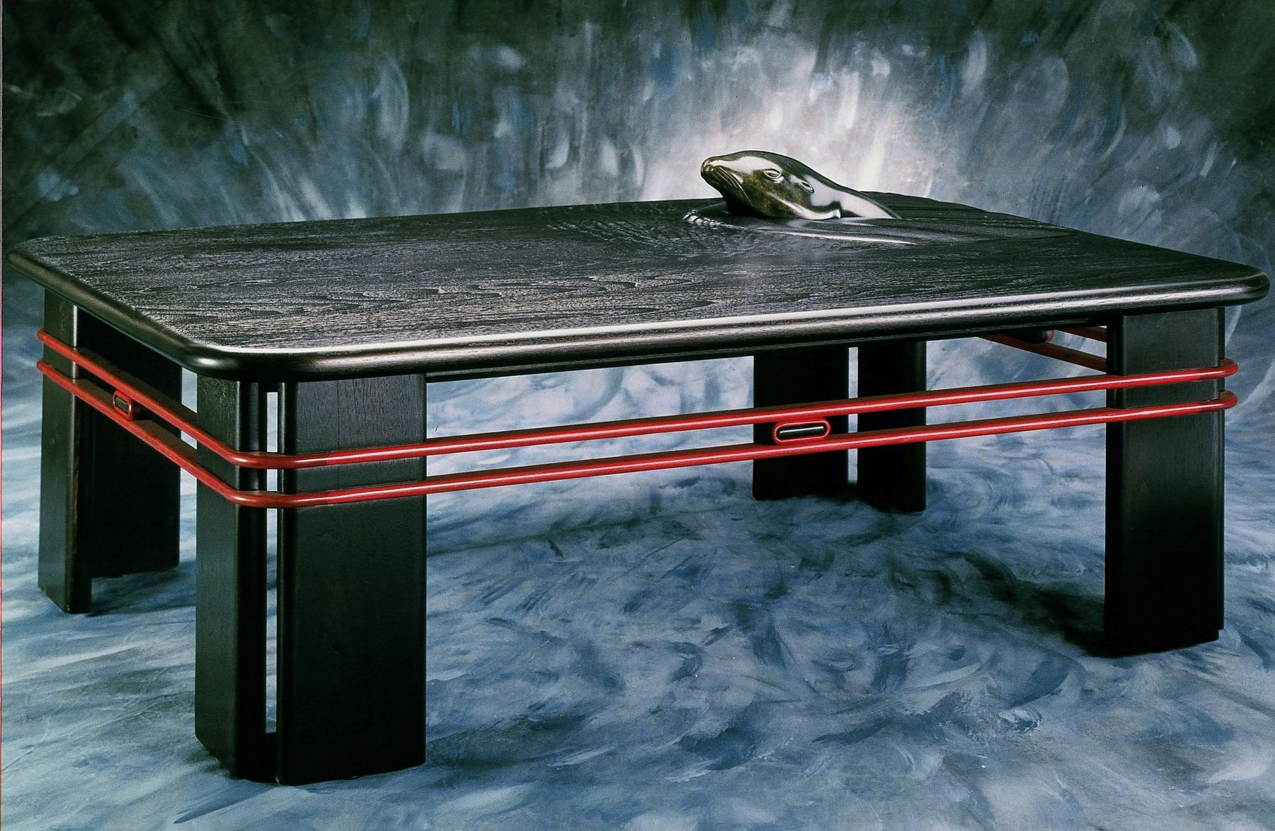 Handmade Contemporary Sculpted Coffee Table by Joel Shepard ...