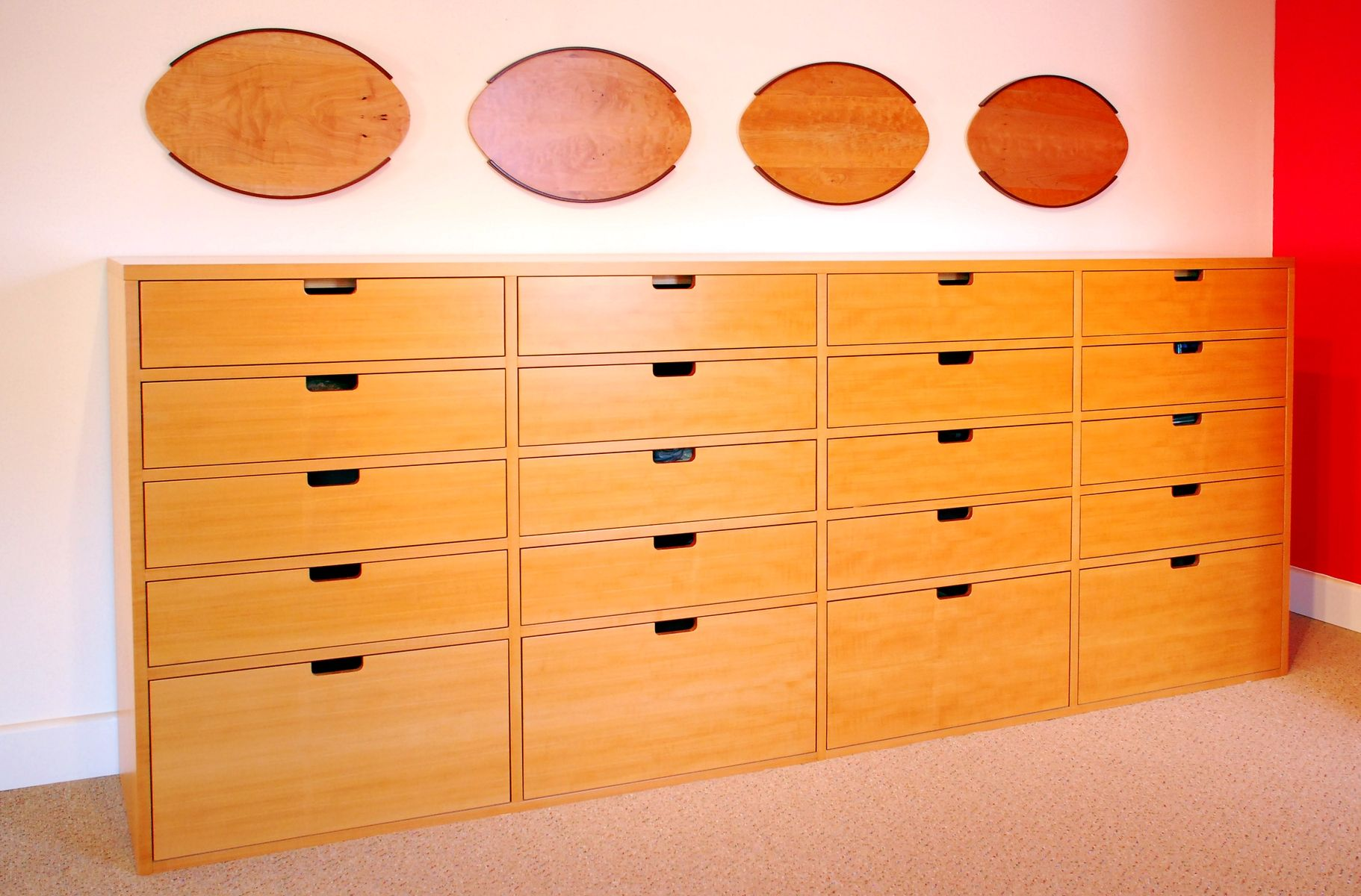 Custom Made Pearwood Dresser