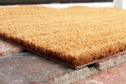 Custom Made Custom Door Mats --Dm-Coir-Mjm
