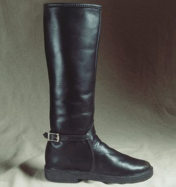 Custom Made London Style Women's Leather Boots