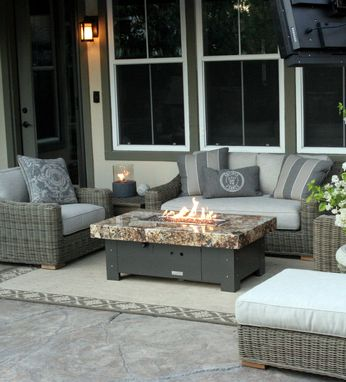Custom Made Balboa Fire Pit Tables