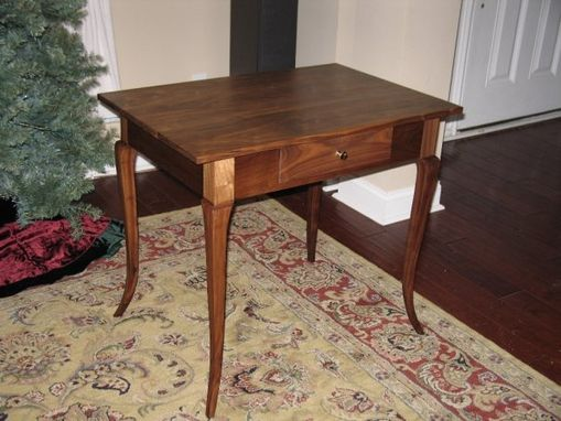 Custom Made French Side Table - Walnut
