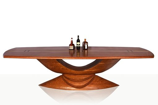Custom Made Sliced Cantelope Dining Table
