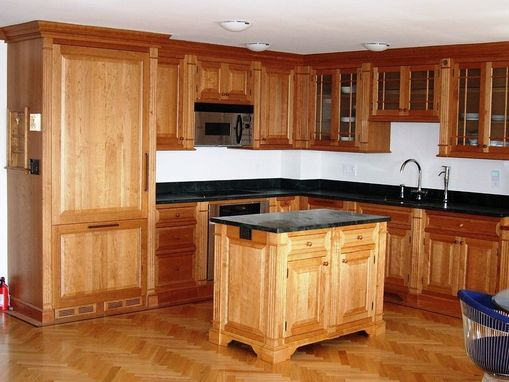 Custom Made Cherry Kitchen Cabinets