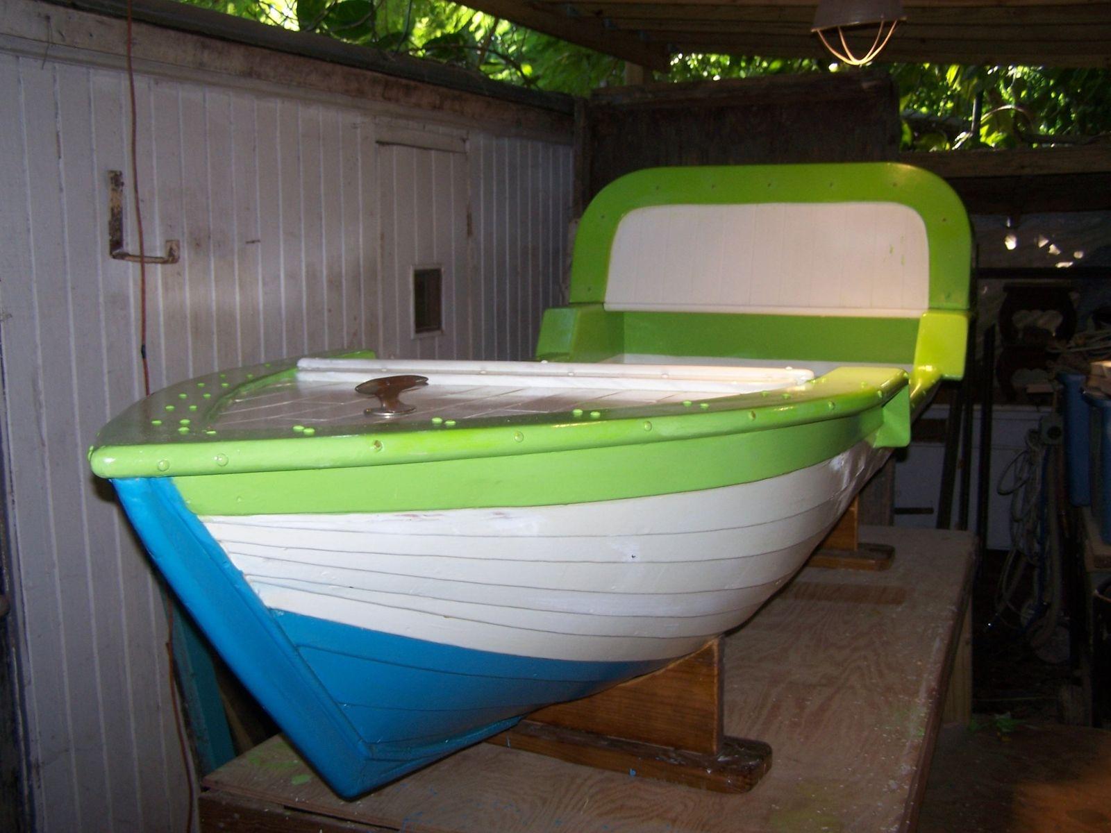 Custom Hanging Boat Bed by Stapleton