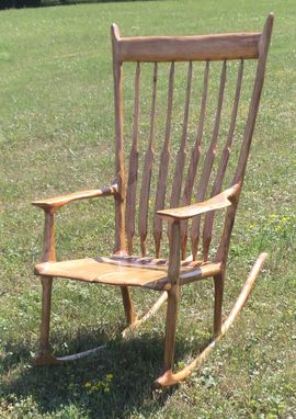 Custom Made Sam Maloof Style Rooking Chair