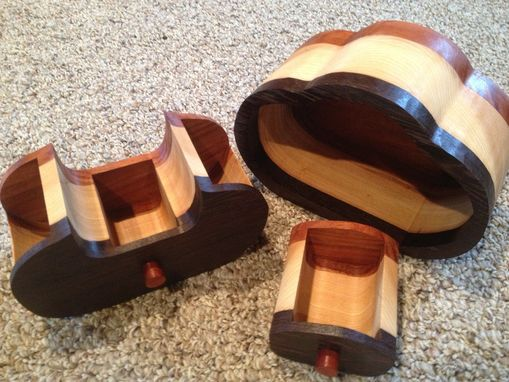 Custom Made Bandsaw Jewelry Boxes