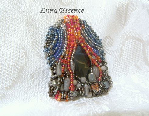 Custom Made Volcanic Goddess Pendant Pele