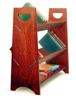 Custom Made Arts And Crafts Style Bookrack