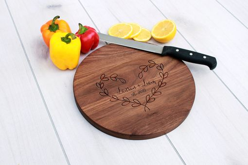 Custom Made Personalized Cutting Board, Engraved Cutting Board, Custom Wedding Gift – Cbr-Wo-Laurenliam