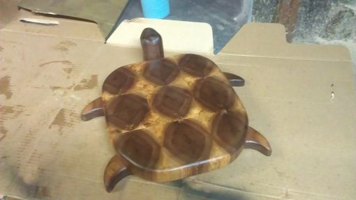 Custom Made Custom Turtle Cutting Board