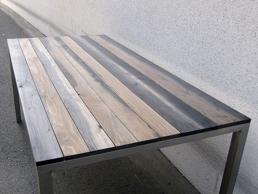 Custom Made Tea Stained Table