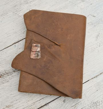 Custom Made Bound Diary Handmade Leather Journal Adventure Travel Notebook (302)