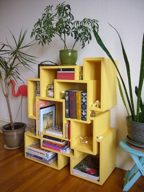 Custom Made Painted Wood Bookcase