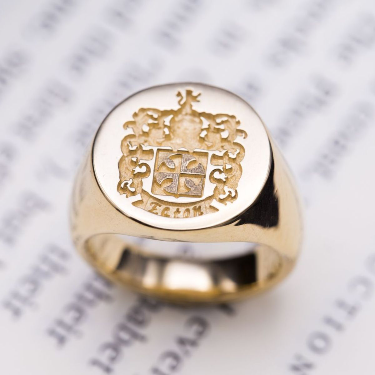 Custom Signet Rings, Family Crest Rings & Coat Of Arms