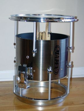 Custom Made Marching Snare Drum Table
