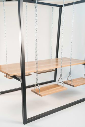 Buy a Custom Made Swingset Table, made to order from The Last Workshop |  CustomMade.com