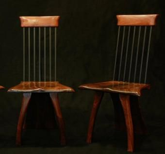 Custom Made Spring Back Chairs