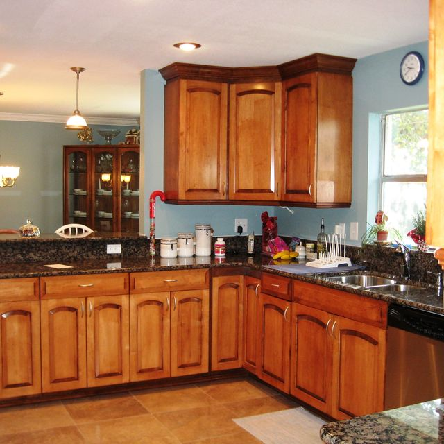 Oak Cathedral Arch Kitchen Cabinets Zef Jam