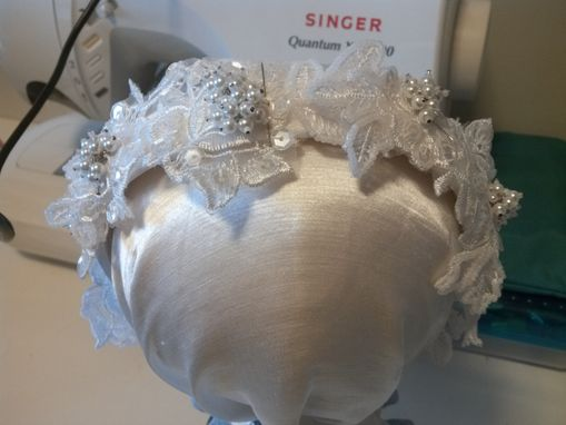 Custom Made Wedding Veil Headband Reproduction