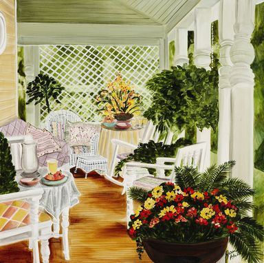 Custom Made Giclee Prints And Original Paintings From Jane Hall