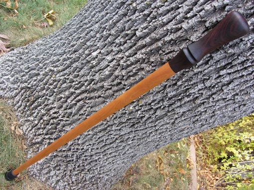 Custom Made Walking Cane/Stick - Handmade Of East India Rosewood And Cherry