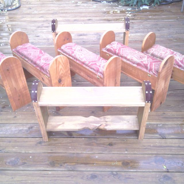 Buy a Custom Oak Prayer Bench, made to order from The Stockton Mill ...
