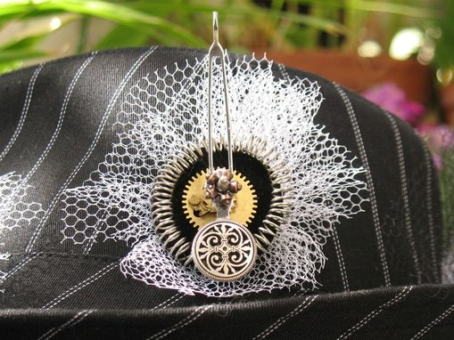 Custom Made Decorated Hat: Steampunk/Neo-Victorian