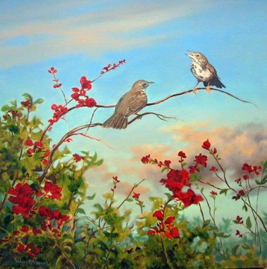 Custom Made Bird Paintings