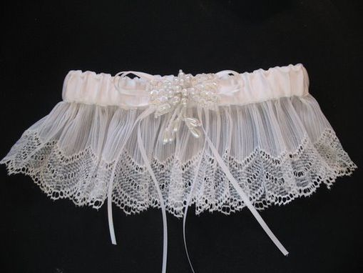 Custom Made Bridal Leg Garters