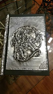 Custom Made Metal Art Journal