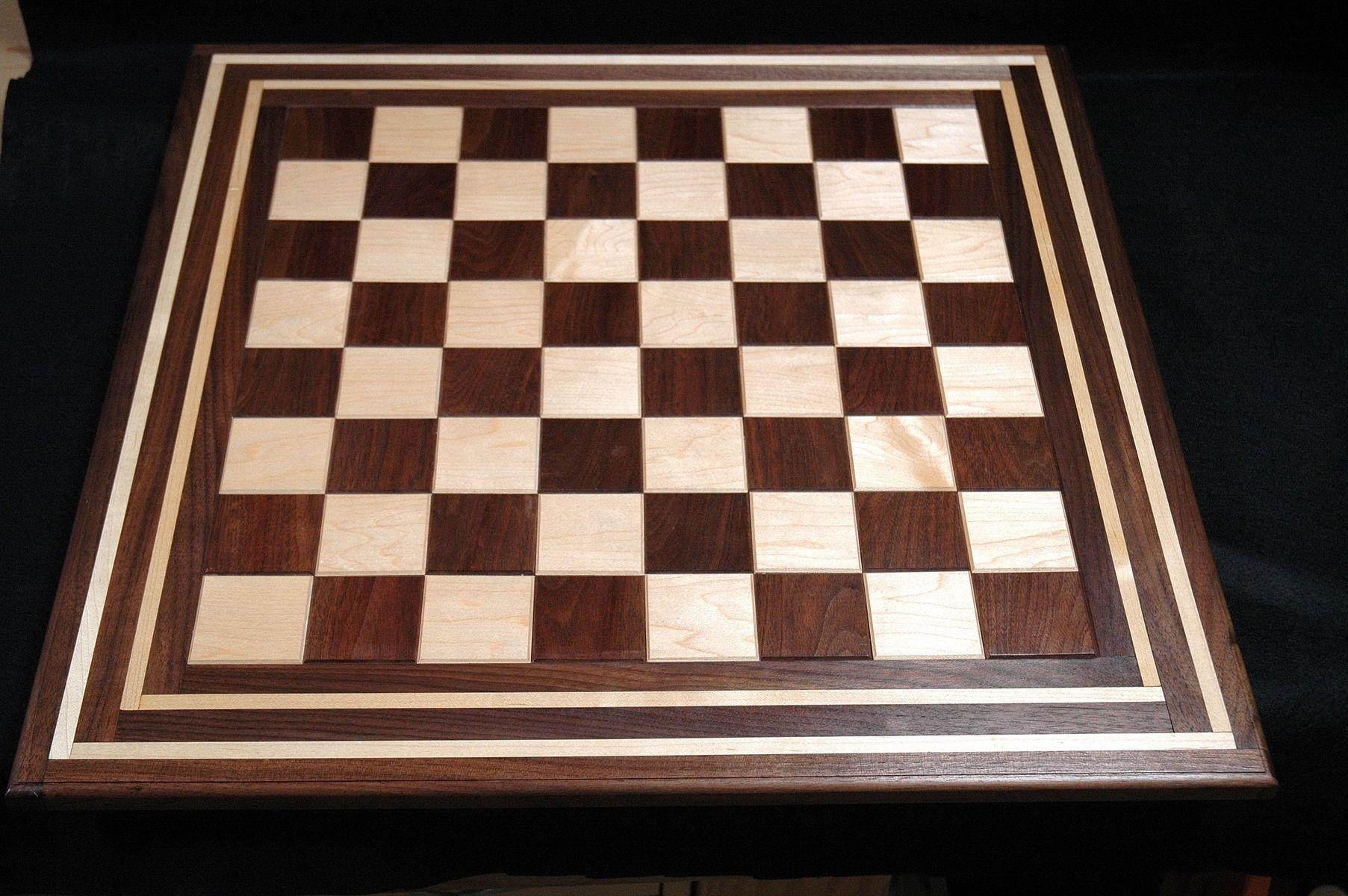 Custom Chess Board Design 4 By Wooden It Be Nice Custommadecom