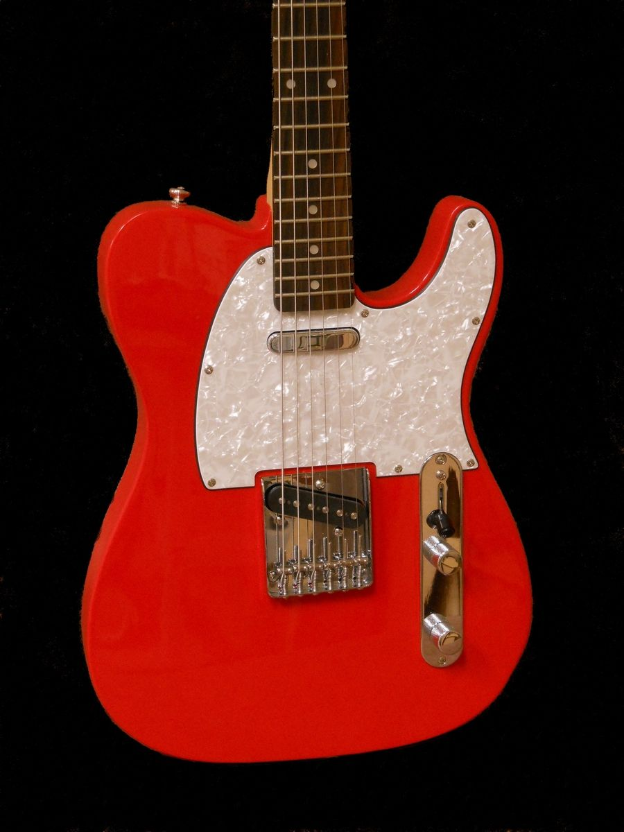 custom made tele type electric guitar by presnall guitars. Black Bedroom Furniture Sets. Home Design Ideas