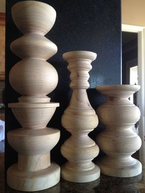 Custom Made Various Candlestick Projects