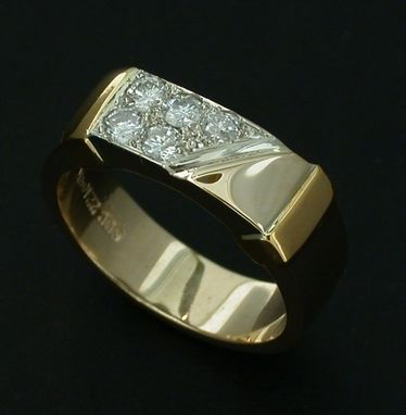 Custom Made Men's Wedding Band