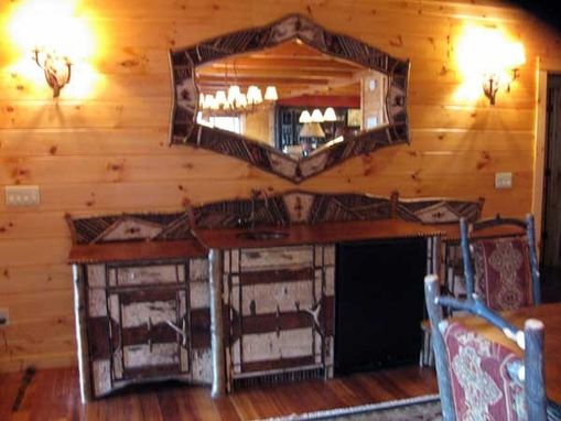 Custom Made Walk Up Bar