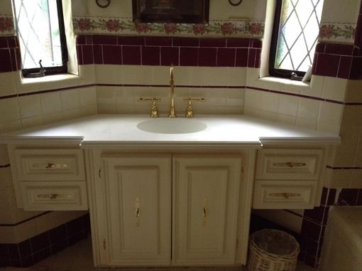 Custom Made Painted Vanity