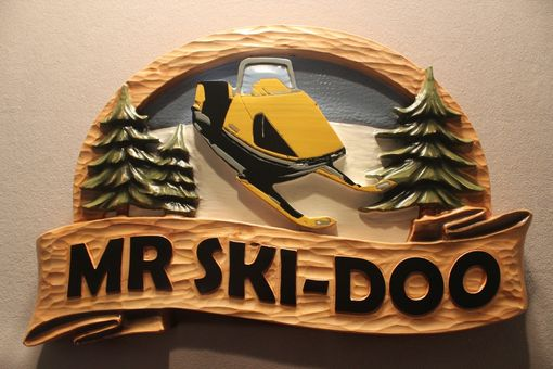 Custom Made Skii Signs, Snowmobile Signs, Winter Signs, Cabin Signs By Lazy River Studio