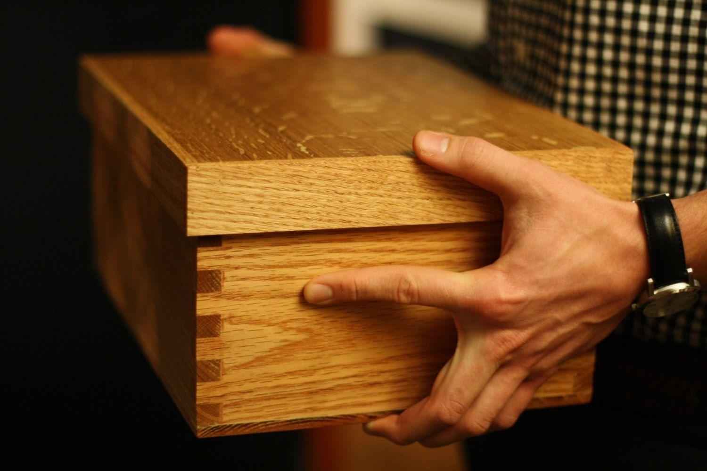 Hand Made Oak Shoe Coffre By Coffr 233 Custommade Com