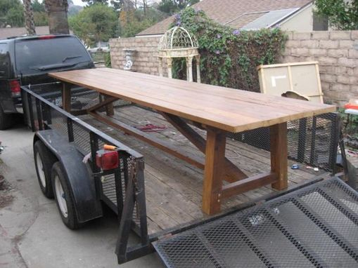 Custom Made Large Dining Table