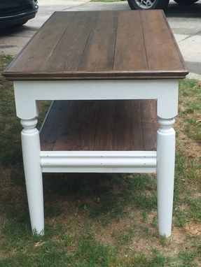 Custom Made Handcrafted Farm Style Kitchen Island