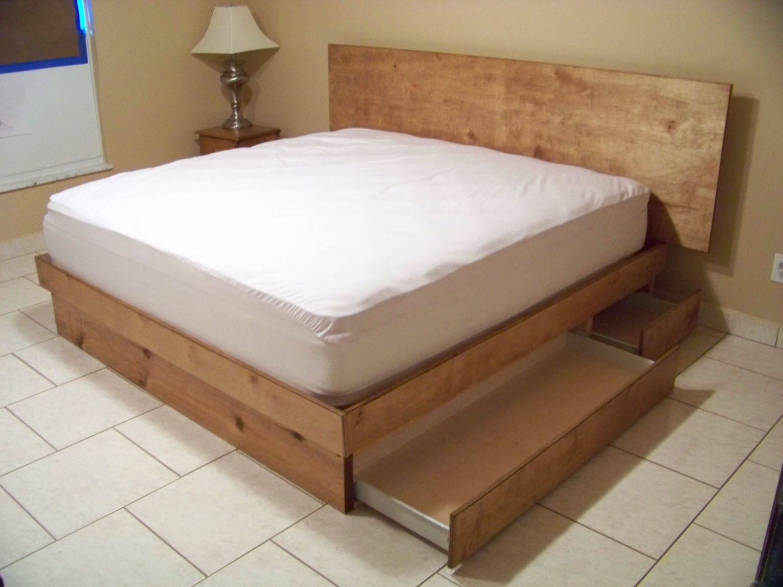 Handmade Storage Platform Bed By Scott Design Custommade Com