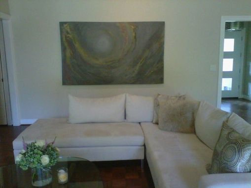 Custom Made Original Abstract Paintings For Modern Texas Home