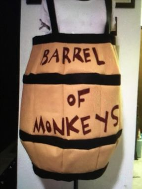 Custom Made Barrel Of Monkeys