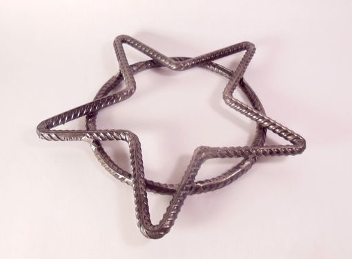 Custom Made Hand Forged Texas Star Trivet - Housewarming Gift, Wedding Gift, Anniversary Present