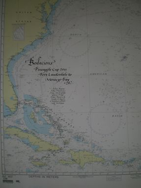 Custom Made Navigational Charts