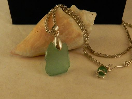 Custom Made Aqua Seaglass Found In Spain